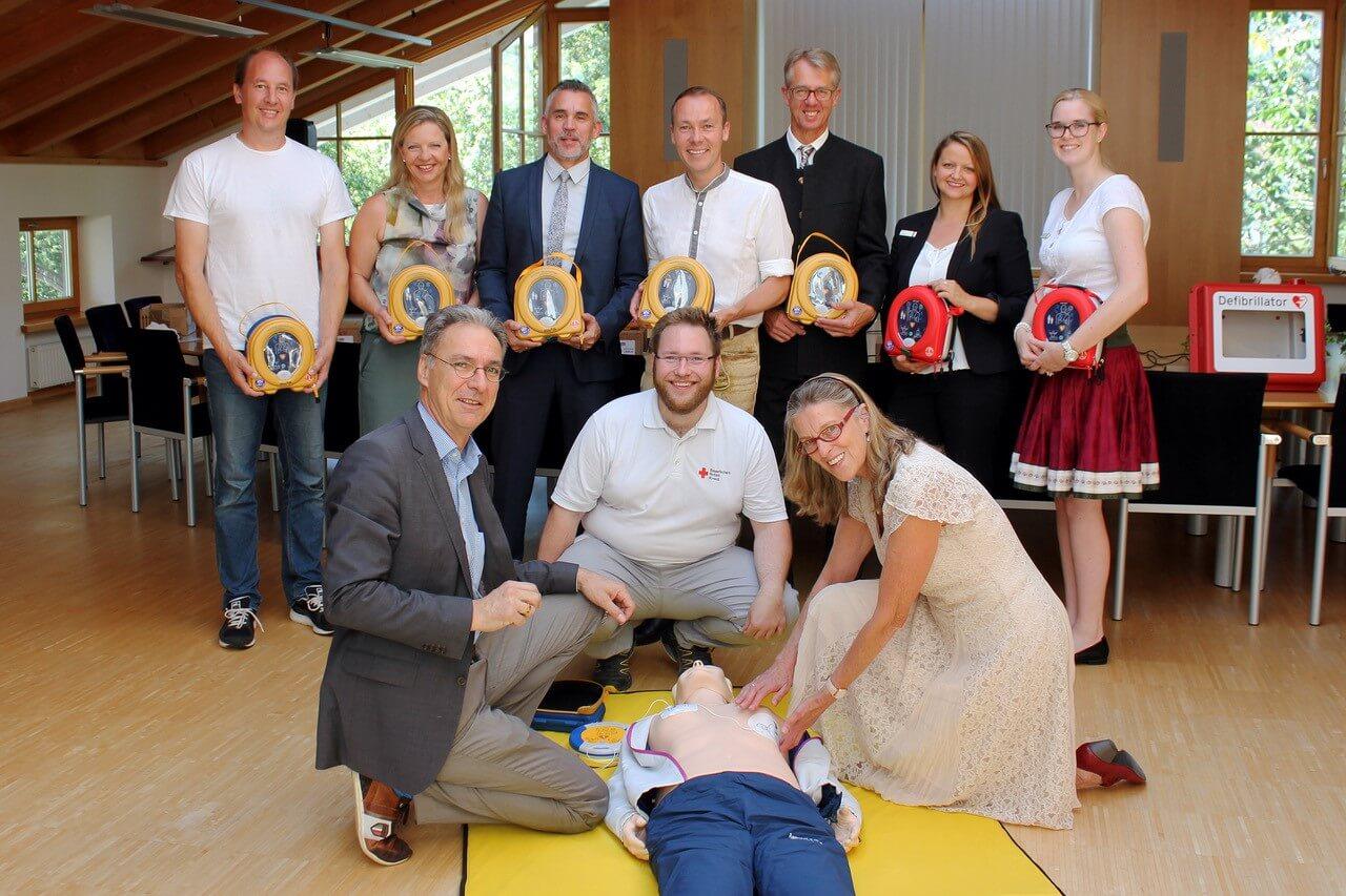 Aschau und Frasdorf retten Leben