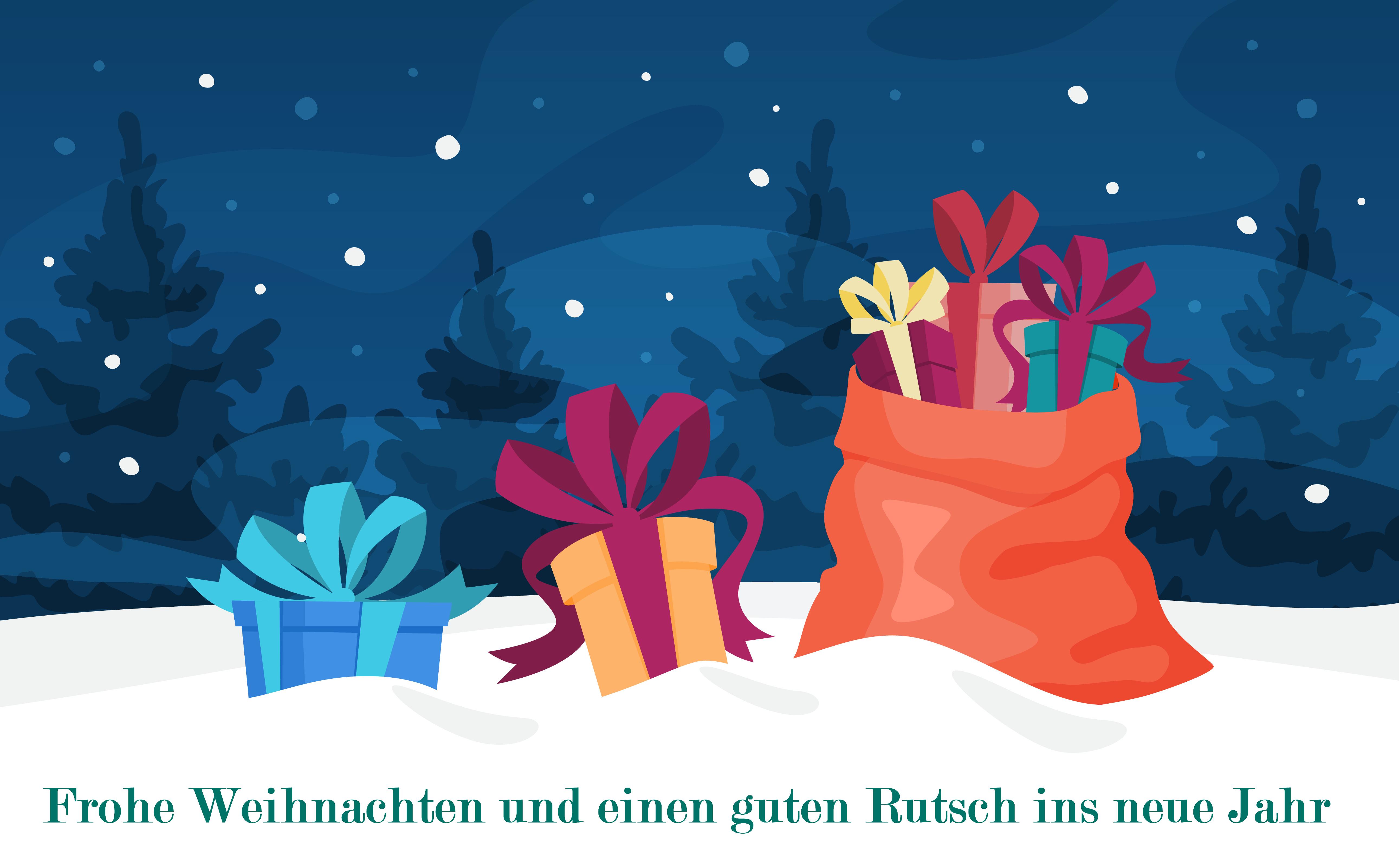 qualido wünscht frohe Weihnachten und einen guten Rutsch ins neue Jahr